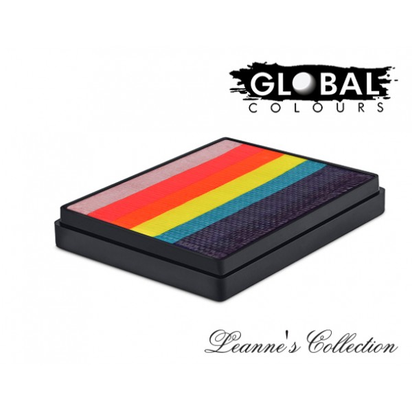Global Body Art Leannes Tropical Butterfly Rainbow Cake