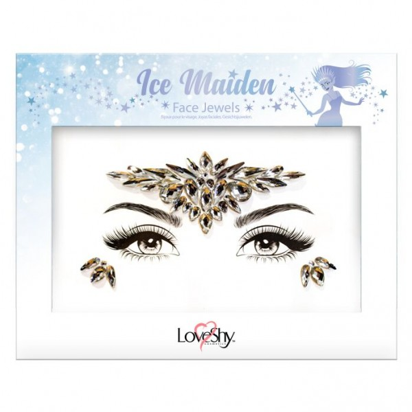LoveShy Face Jewels Ice Maiden