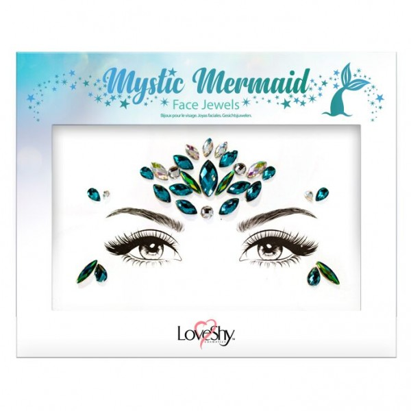LoveShy Face Jewels Mystic Mermaid