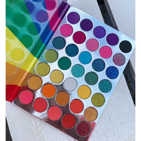 Lick and Lash  Palette Rainbow Rhythms
