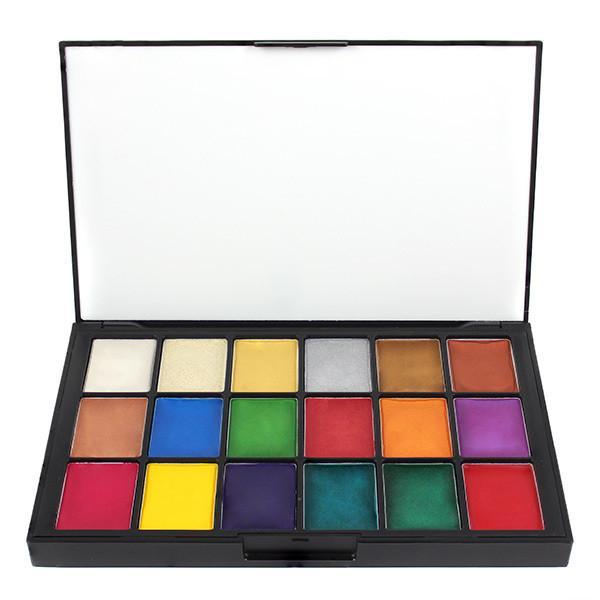 Ben Nye Lumiere 18 Colour Creme Palette
