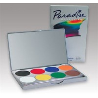 Mehron Paradise Make Up AQ 8 Colour Palette - Basic