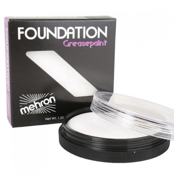 Mehron Foundation Grease Paint White