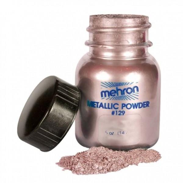 Mehron Metallic Powder Rose