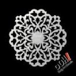 Ooh Body Art Stencil S12 Filigree Sphere