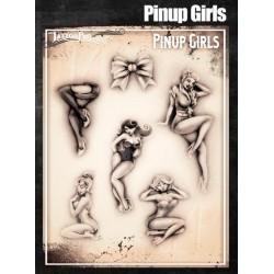 Airbrush Tattoo Pro Pinup Girls
