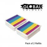 Global Colours Refill Pack of 2 Ibiza