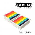 Global Colours Refill Pack of 2 Leannes Lollipop