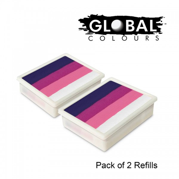 Global Colours Refill Pack of 2 Naples