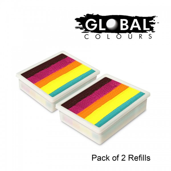 Global Colours Refill Pack of 2 Summer Crush