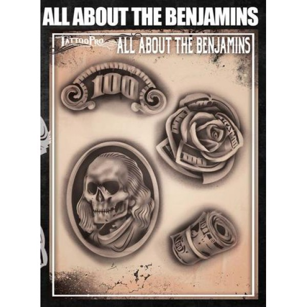Airbrush Tattoo Pro All About The Benjamins