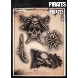 Airbrush Tattoo Pro Pirates