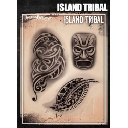 Airbrush Tattoo Pro Island Tribal