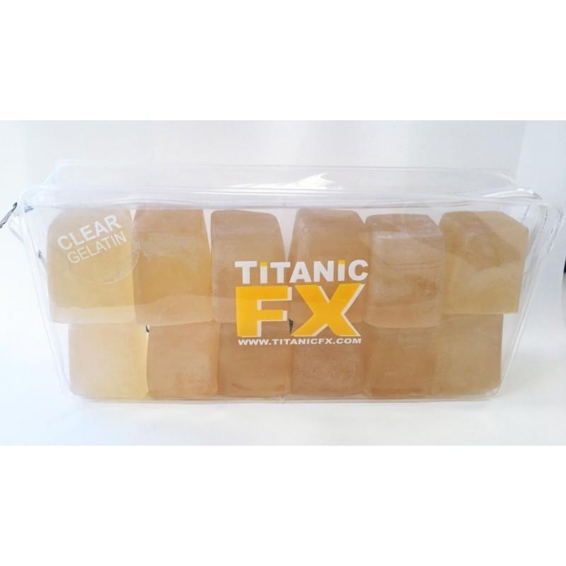 Titanic Prosthetic Gelatin Clear