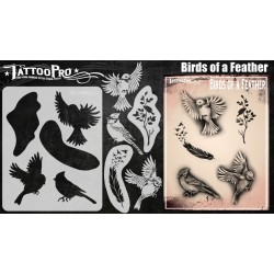 Airbrush Tattoo Pro Birds Of A Feather