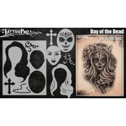 Airbrush Tattoo Pro Day of the Dead