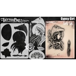 Airbrush Tattoo Pro Gypsy Girl