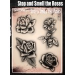 Airbrush  Tattoo Pro Stop And Smell The Roses