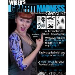 Graffiti Madness Stencil Kit