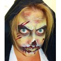 Charlotte Gardner - Step By Step Zombie Face Painting Design