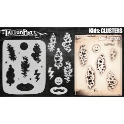 Airbrush Tattoo Pro Kids Clusters