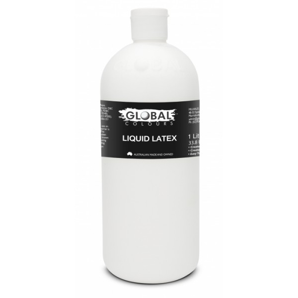 Global Body Art Liquid Latex 1L