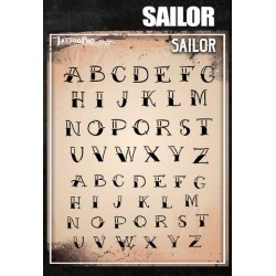 Airbrush Tattoo Pro Sailor Font