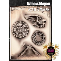 Airbrush Tattoo Pro Aztec and Maya