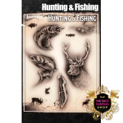 Airbrush Tattoo Pro Hunting and Fishing