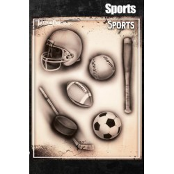 Airbrush Tattoo Pro Sports