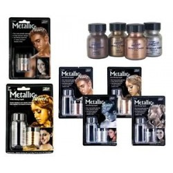 Mehron Metallic Powder Combo Pack Copper