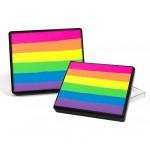 Silly Farm Rainbow Cake Neon Rainbow