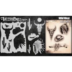 Airbrush Tattoo Pro Wild West