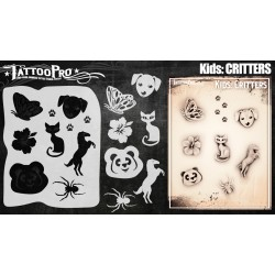 Airbrush Tattoo Pro Kids Critters