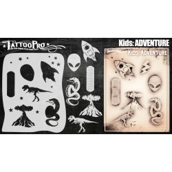 Airbrush Tattoo Pro Kids Adventure