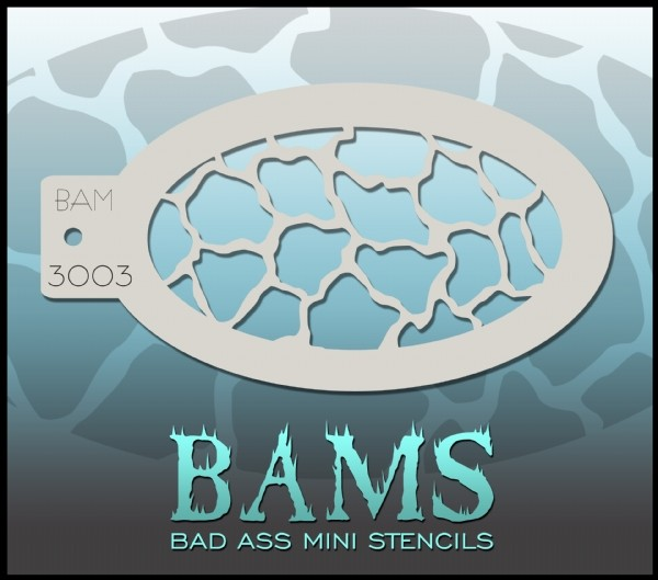 Bad Ass Stencil 3003