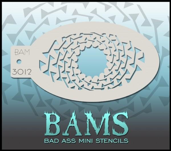 Bad Ass Stencil 3012