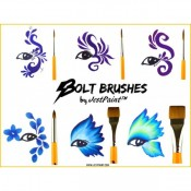 Jest Paints Bolt Brushes