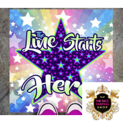 Next In Line Mat Princess Stars