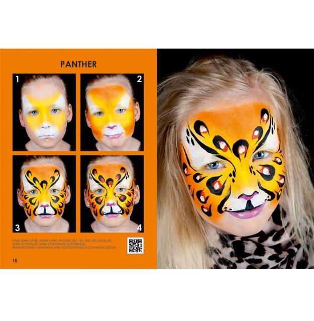Ongebruikt Grimas Face Painting Booklet JA-82